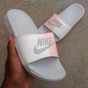 4ea6838e768b Nike Shoes - WMNS NIKE SCARFACE BENASSI SLIDES JUST DO IT PINK